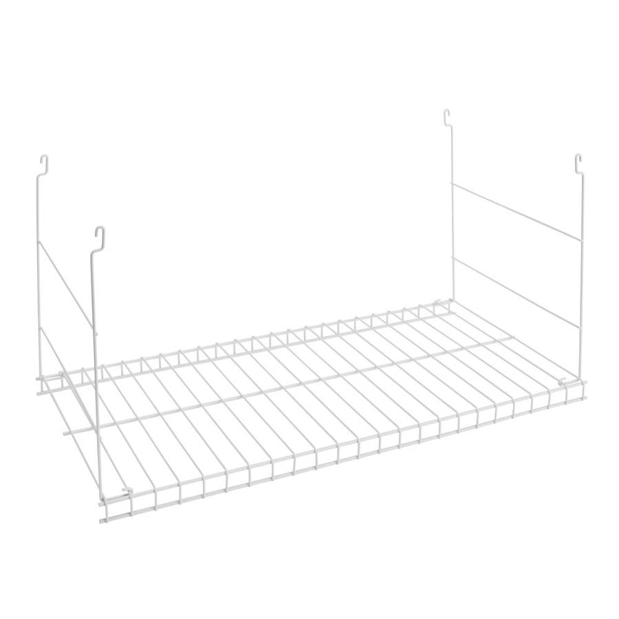Rubbermaid White Hanging Add-On Wire Shelf at Lowes.com