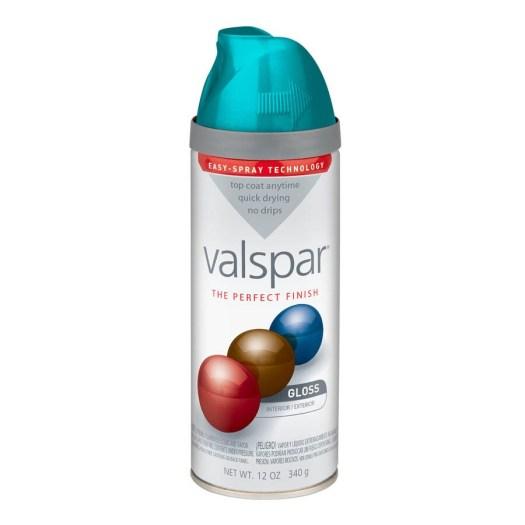 Valspar Exotic Sea Spray Enamel Paint Actual Net Contents 12 Oz