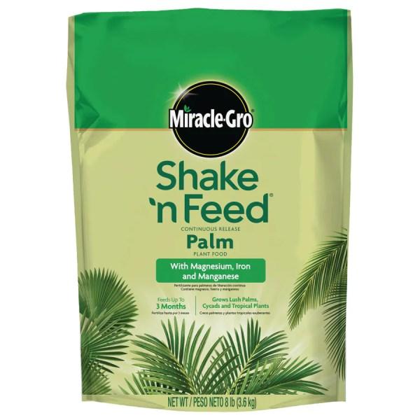 Miracle-gro Shake ' Feed Palm Plant 8-lb Tree Food