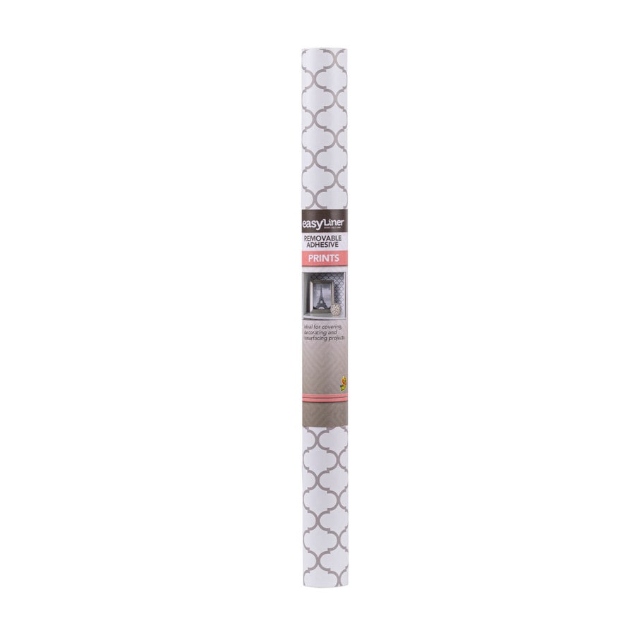 Shop Duck 20 In X 15 Ft Taupe Moroccan Shelf Liner At