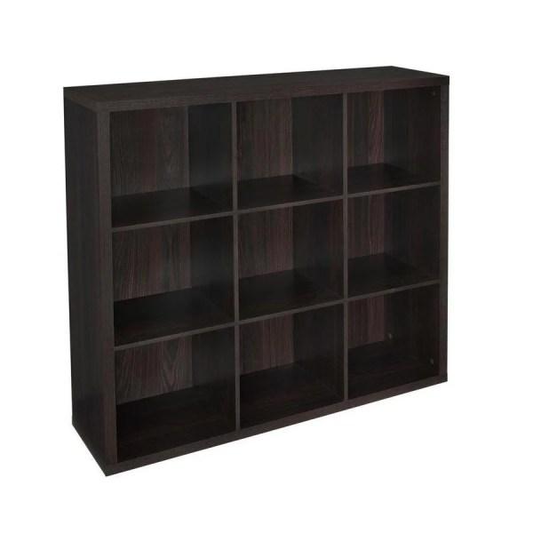Black Cube Storage Organizer