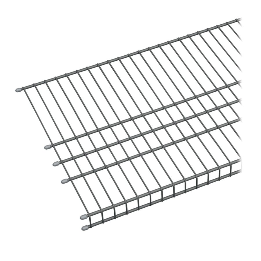 ClosetMaid 6-ft L x 16-in D Charcoal Wire Shelf at Lowes.com