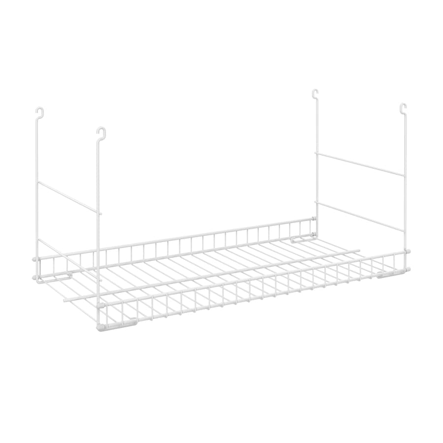 Shop ClosetMaid White Wire Add-On Hanging Kit at Lowes.com