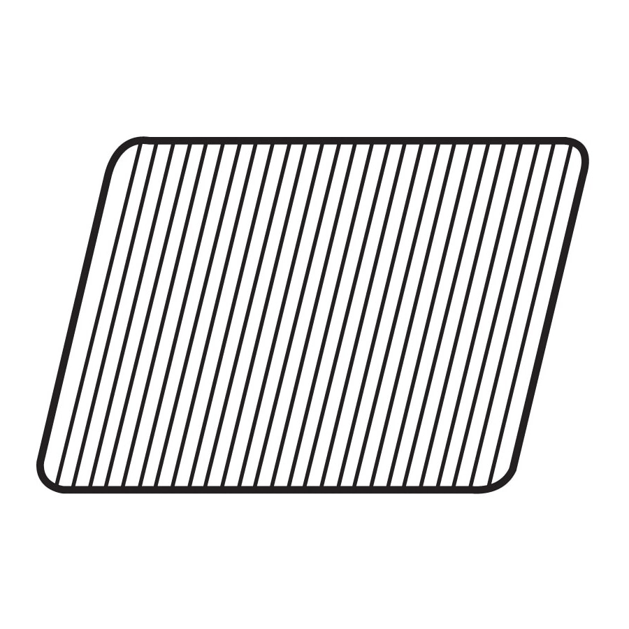 Shop Heavy Duty BBQ Parts Rectangle Porcelain-Coated Steel