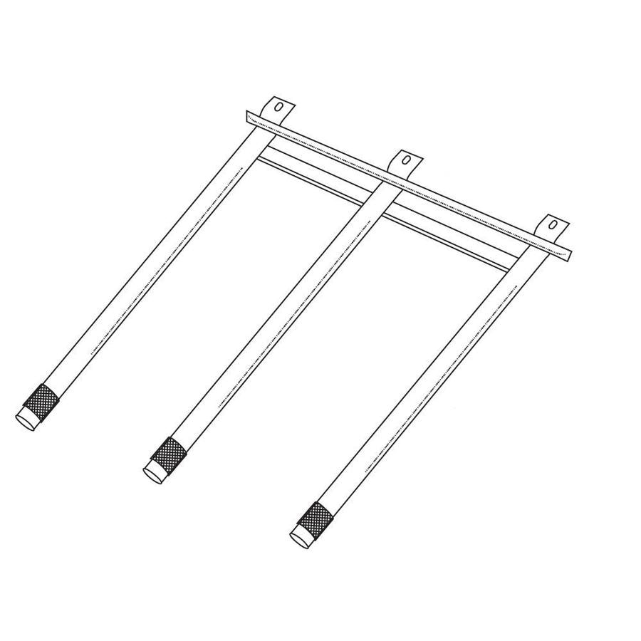 Heavy Duty BBQ Parts 18-in Stainless Steel Tube Burner at