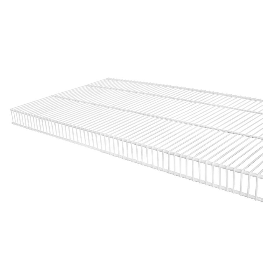 Shop Rubbermaid TightMesh 4-ft x 16-in White Wire Shelf at