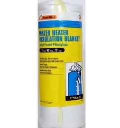 frost king universal plastic water heater insulation blanket [ 900 x 900 Pixel ]