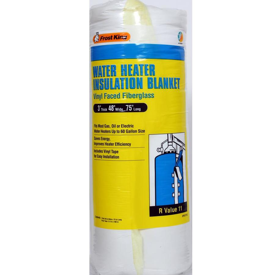 hight resolution of frost king universal plastic water heater insulation blanket