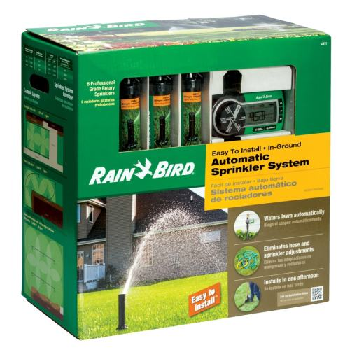 small resolution of rain bird 1 2 in plastic automatic sprinkler system