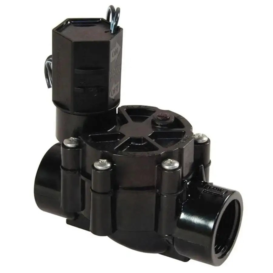 hight resolution of rain bird 0 75 in plastic electric inline irrigation valve