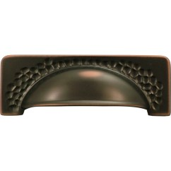 Lowes Kitchen Cabinet Hardware Affordable Outdoor Kitchens Shop Hickory 96mm Center-to-center Oil-rubbed ...