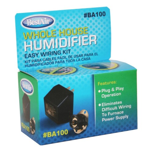 small resolution of bestair furnace humidifier wiring kit