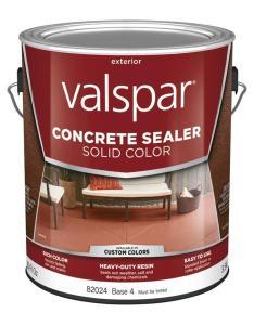 Valspar tintable base solid concrete sealer actual net contents fl oz also shop rh lowes