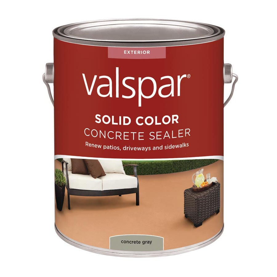 Valspar Solid Color Concrete Sealer