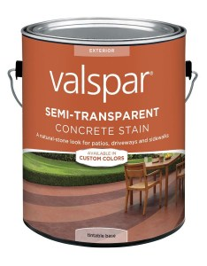 Valspar tintable base semi transparent concrete stain and sealer fl oz also shop rh lowes