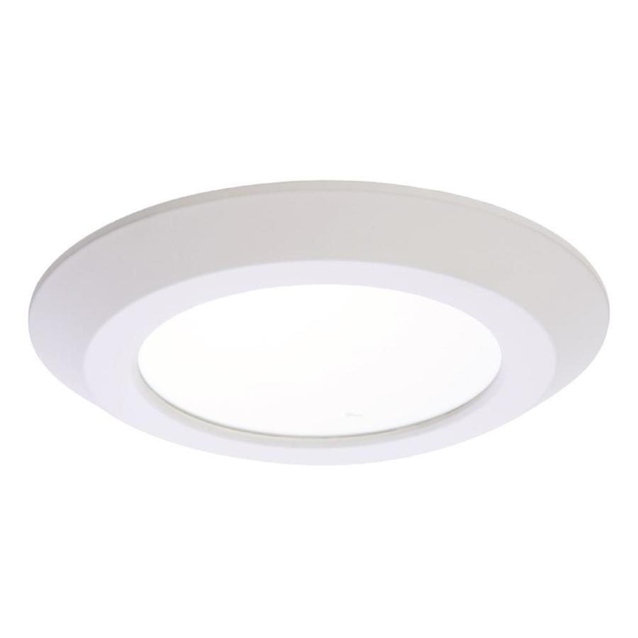 halo 5 in or 6 in 65 watt equivalent white round dimmable recessed downlight