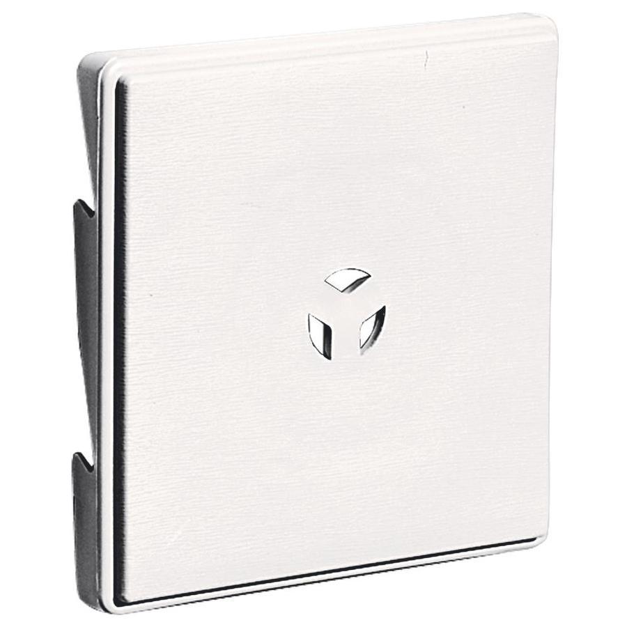 Builders Edge 6.625-in x 6.625-in Bright White Vinyl