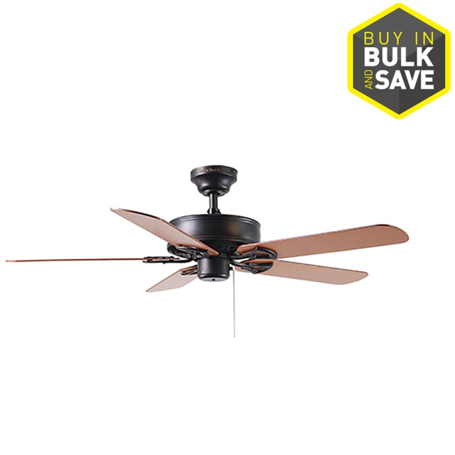 hight resolution of harbor breeze classic 52 in antique bronze indoor ceiling fan at rh lowes com hampton bay ceiling fan e81964 harbor breeze ceiling fans with lights