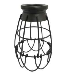 portfolio 7 25 in h 4 62 in w french bronze wire industrial cage pendant light [ 900 x 900 Pixel ]