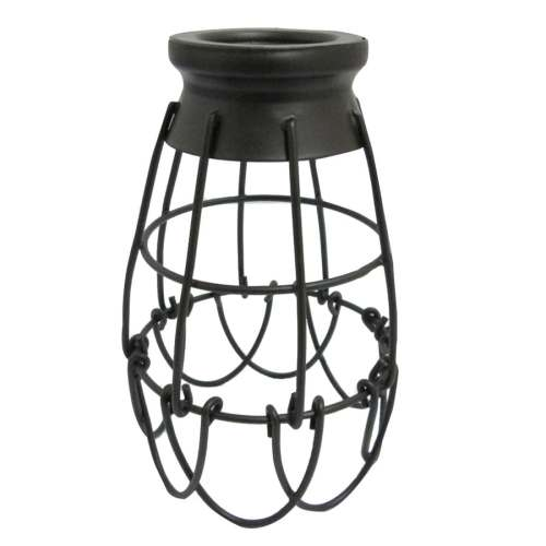 small resolution of portfolio 7 25 in h 4 62 in w french bronze wire industrial cage pendant light