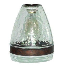 portfolio 7 5 in h 6 in w clear textured glass bell pendant light shade [ 900 x 900 Pixel ]