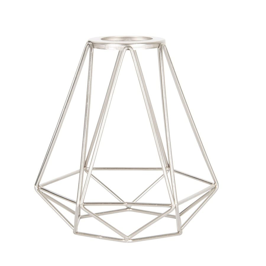 medium resolution of portfolio 6 in h 6 in w brushed nickel wire industrial geometric vanity light