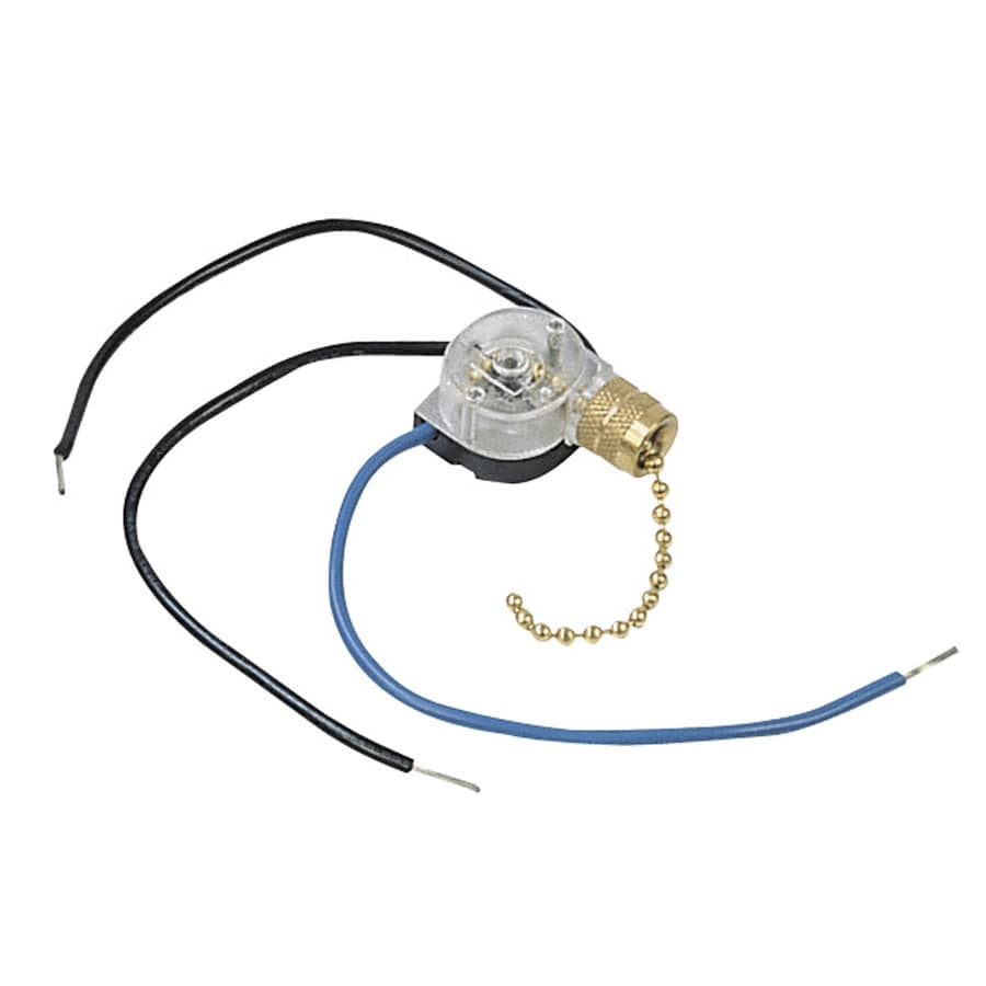 Harbor Breeze 3-Setting Brass Ceiling Fan Switch at Lowes.com