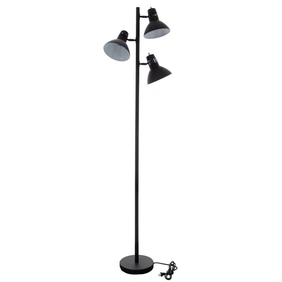 Allen Roth Embleton 68 In Bronze Multi Head Floor Lamp