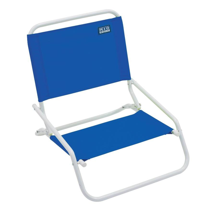 lowes camping chairs office chair brands rio blue steel folding beach at com