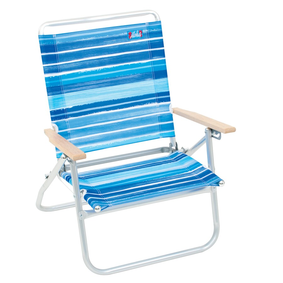Aluminum Folding Chair Rio Brands Aluminum Folding Beach Chair At Lowes