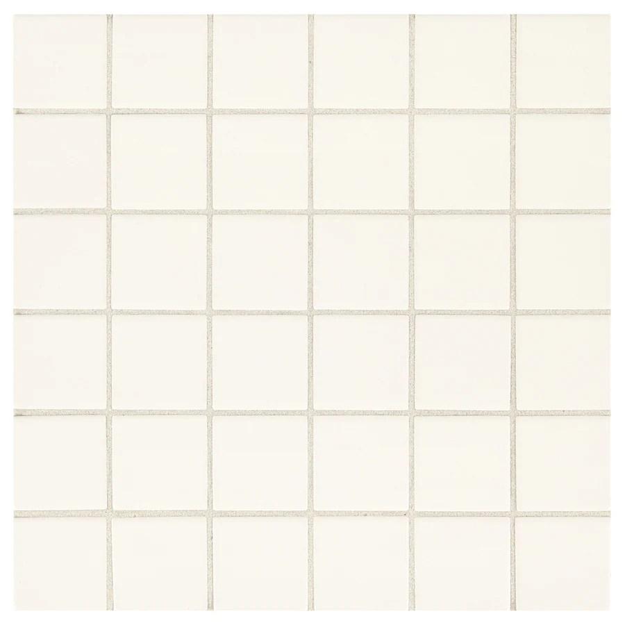 american olean weddington white 12 in x 12 in glazed ceramic uniform squares wall tile