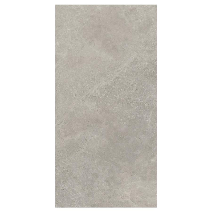 american olean stoneview sky gray 12 in x 24 in glazed porcelain stone look floor and wall tile