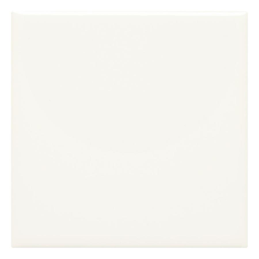 american olean starting line white gloss 4 in x 4 in glazed ceramic subway wall tile sample in the tile samples department at lowes com