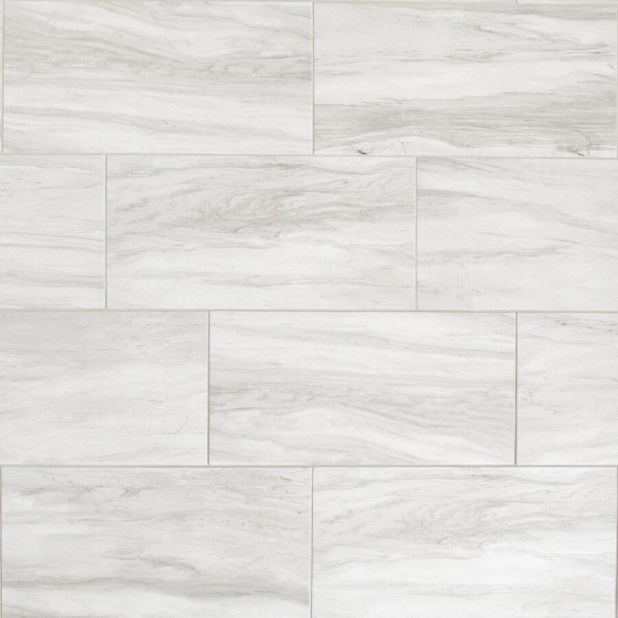 american olean newcastle marble white