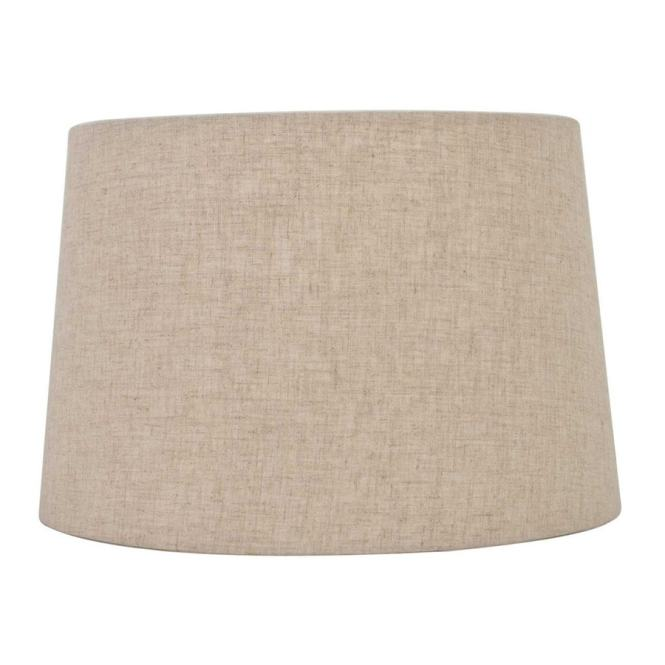 Allen Roth 9 In X 13 Fabric Drum Lamp Shade
