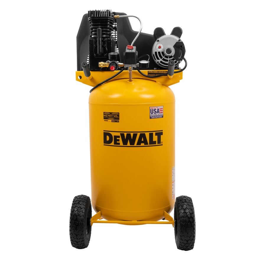 medium resolution of dewalt 30 gallon portable electric vertical air compressor