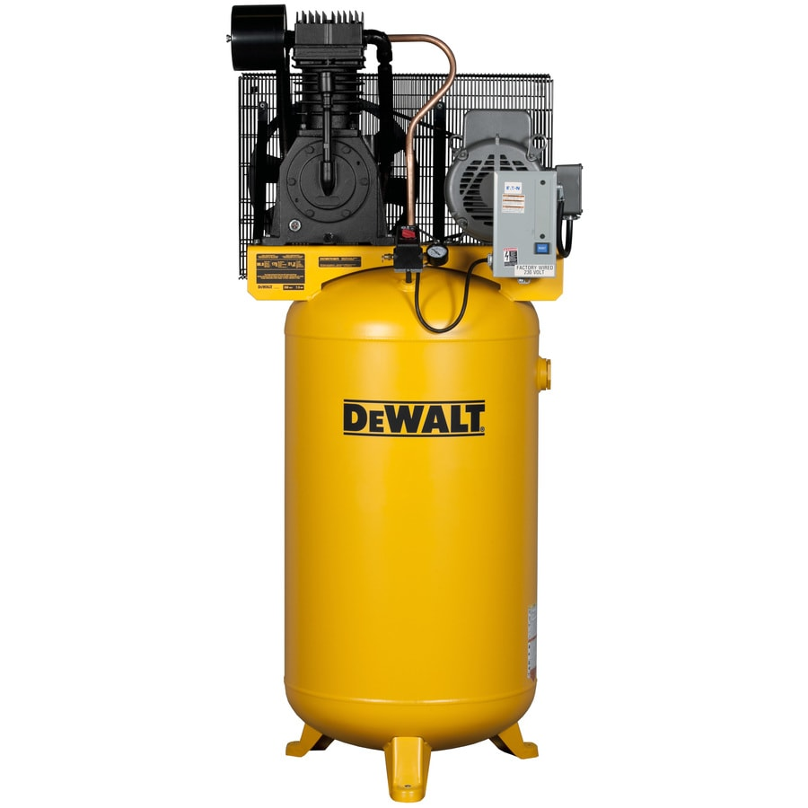 medium resolution of dewalt 80 gallon electric vertical air compressor