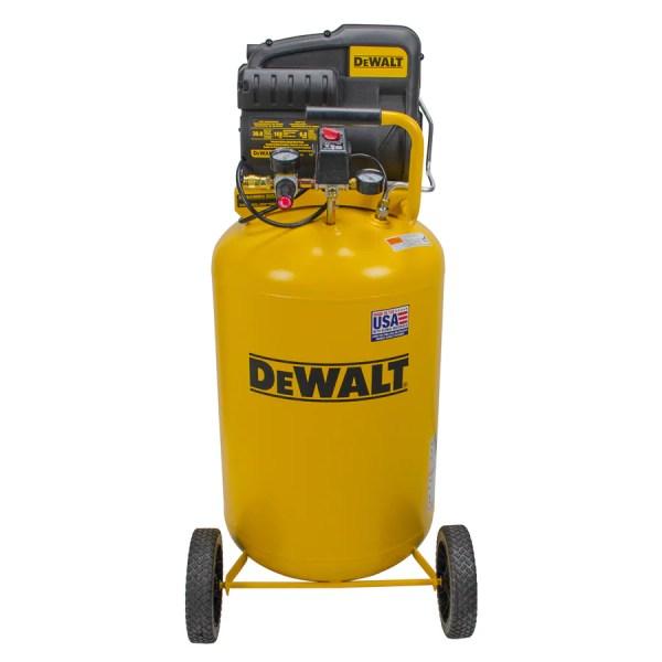 Dewalt 1.9-hp 30-gallon 155-psi 120-volt Vertical Portable Electric Air Compressor