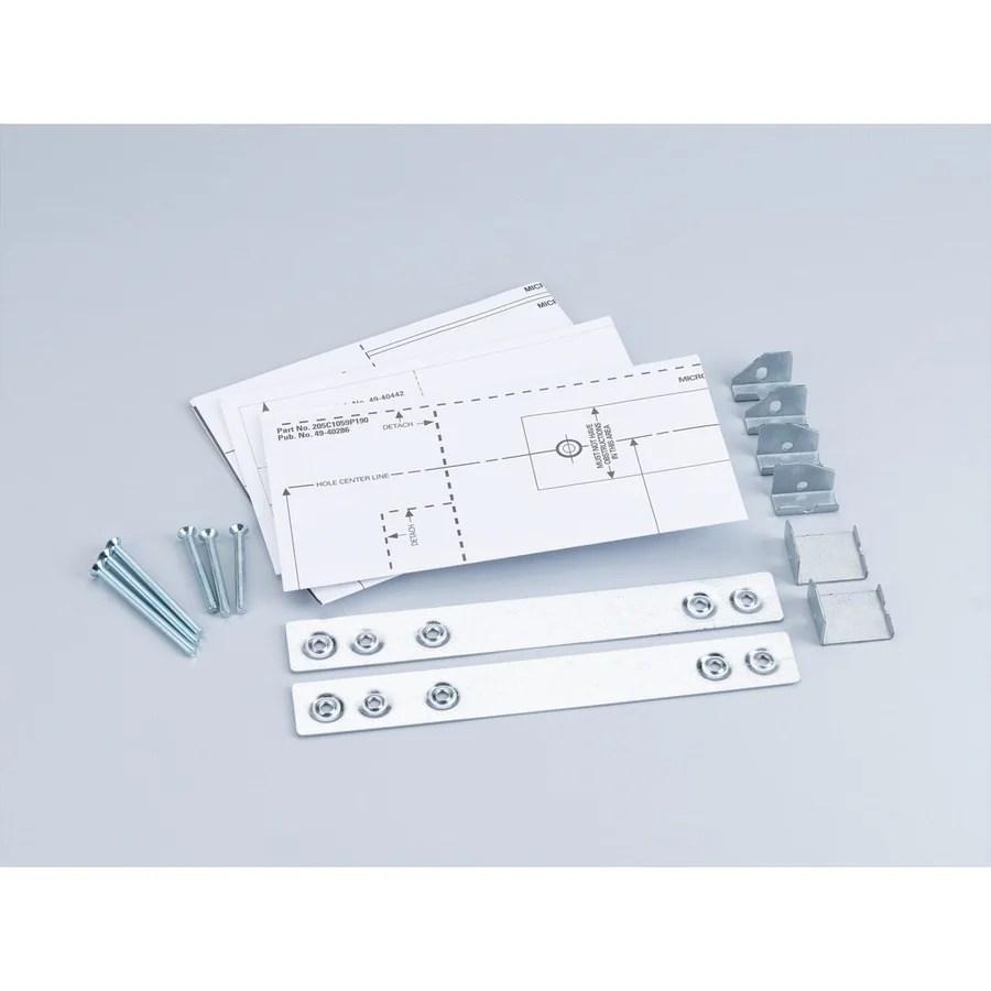 ge microwave mounting kit