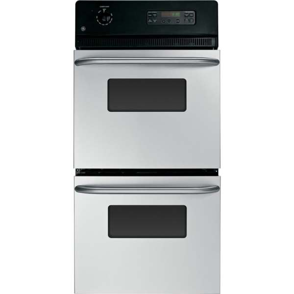 Ge -cleaning Double Electric Wall Oven Stainless Steel Common 24-in; Actual 23.75-in