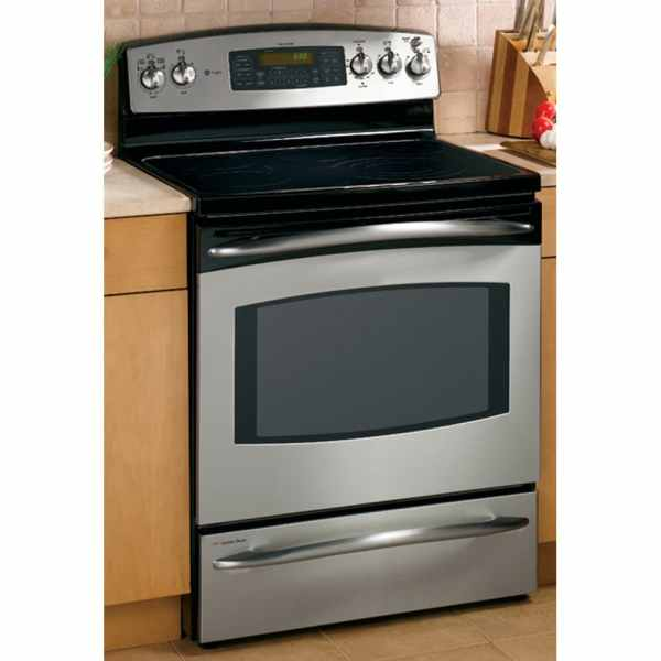 Ge Profile 30- Double Oven Freestanding Electric Range Color Stainless