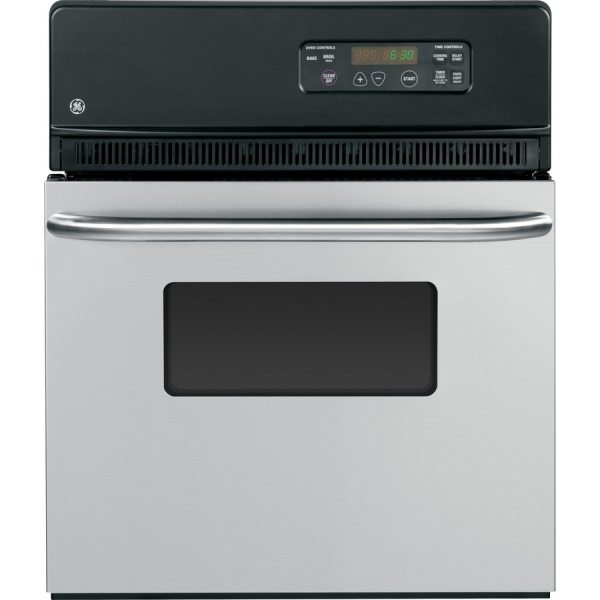 Ge Single Electric Wall Oven Stainless Steel Common 24 ; Actual 23.75