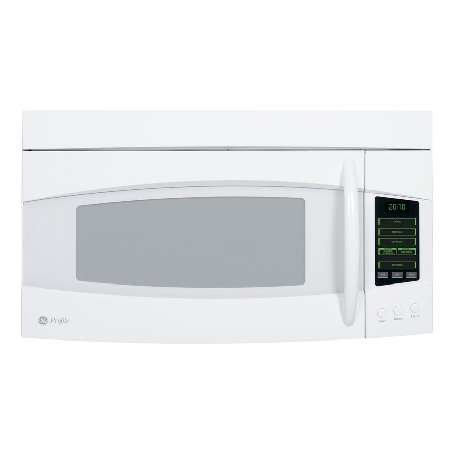 ge profile 2 0 cu ft over the range microwave color white