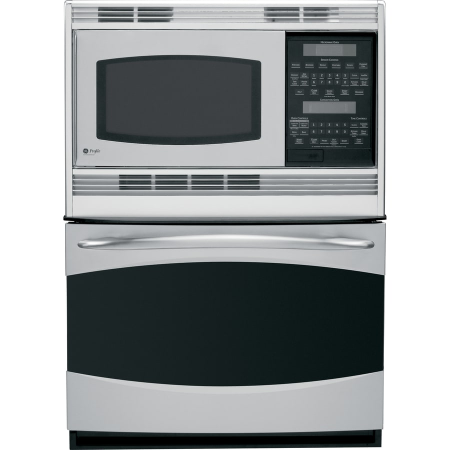 ge profile self cleaning microwave wall