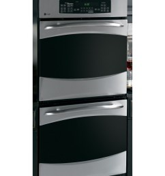 ge profile 27 in self cleaning convection double electric wall oven stainless steel [ 900 x 900 Pixel ]