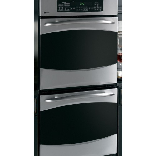 small resolution of ge profile 27 in self cleaning convection double electric wall oven stainless steel