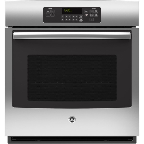Ge Single Electric Wall Oven Stainless Steel Common 27-in; Actual 26.71875