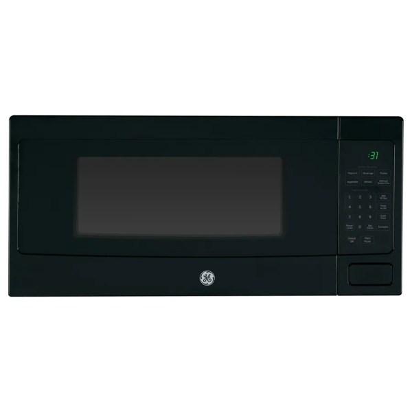 Ge Profile 1.1-cu Ft 800-watt Countertop Microwave Black