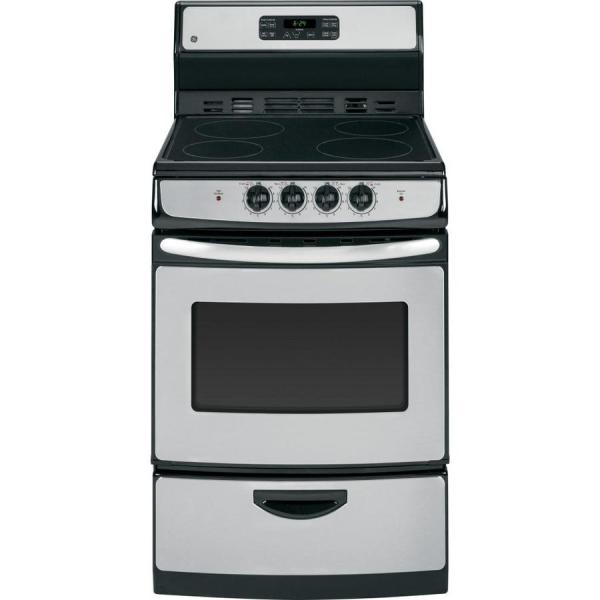 24 Electric Range Stainless Steel