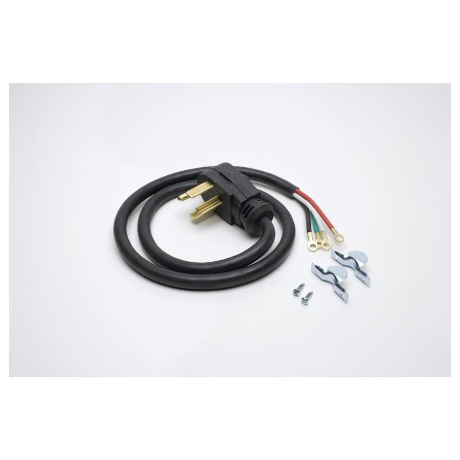 hight resolution of ge 4 ft 4 wire black dryer appliance power cord
